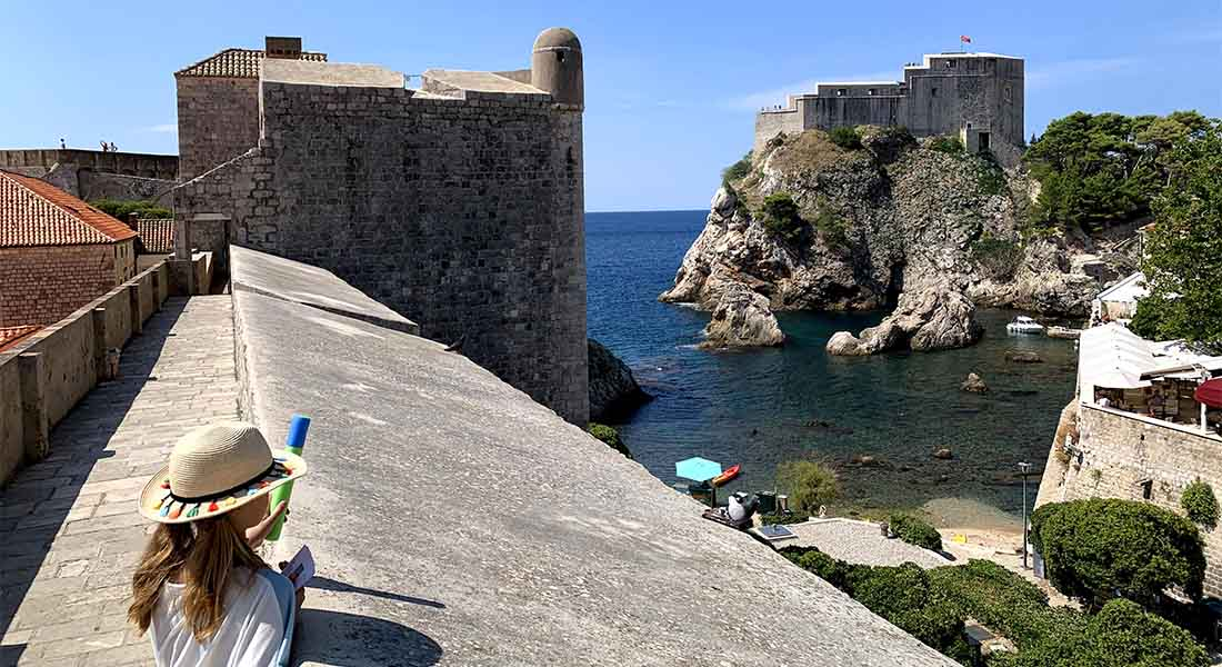 Kula Bokar i Lovrjenac u Dubrovniku