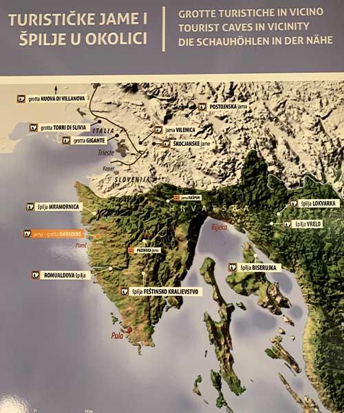 Špilje i jame u Istri