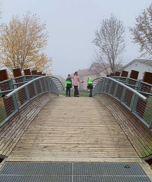 Most Ljube Kraljević u Jastrebarskom