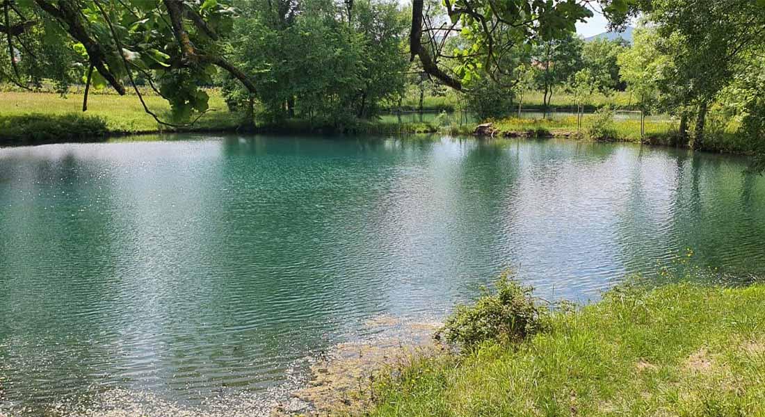 Jezera Dva oka kod Imotskog