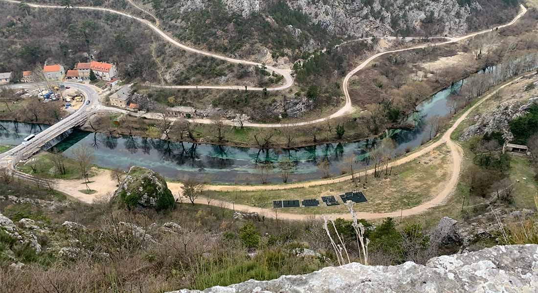 Rijeka Krka u Kninu