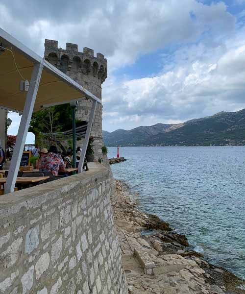 Zidine u Korčuli