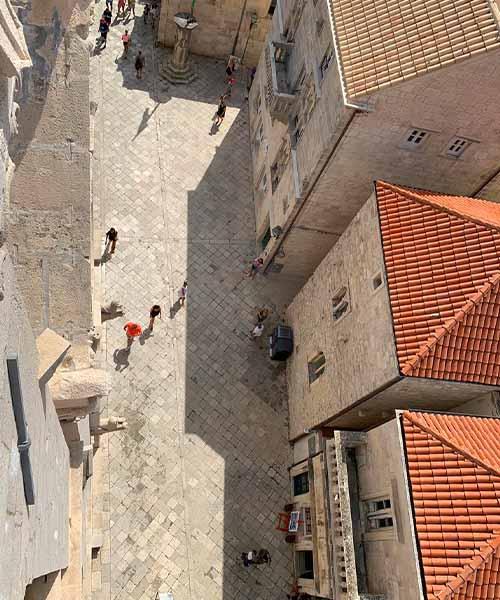 Trg svetog Marka u Korčuli