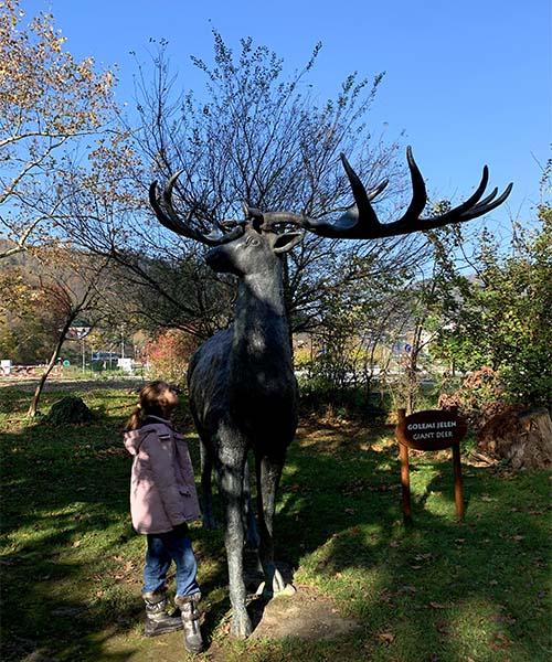 Golemi jelen u Krapini
