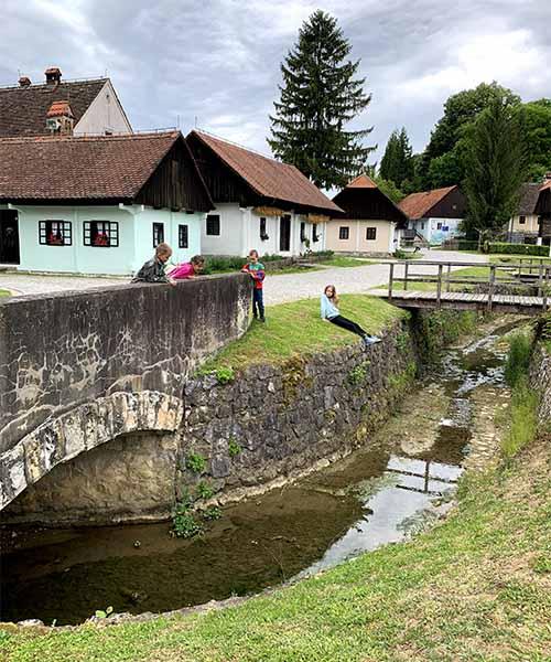 Potok u Kumrovcu