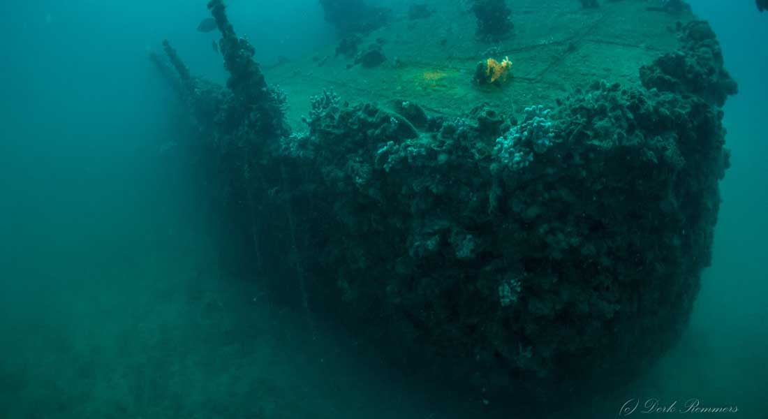 Ronjenje do olupine krstarice Cesare Rossarol