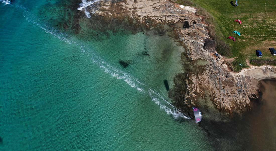 Aktivan odmor u Istri, windsurfing u uvali Kuje