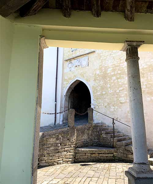 Glavna gradska vrata u Motovunu