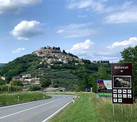 Obilazak Motovuna: centar pozitivne energije u Istri