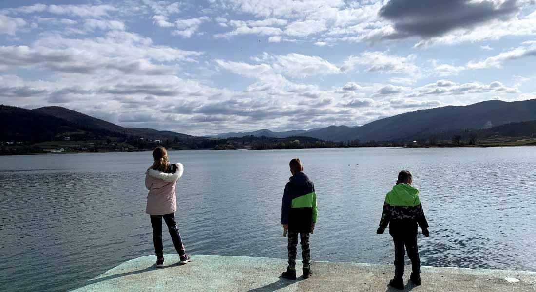 Obilazak Ogulina: Jezero Sabljaci