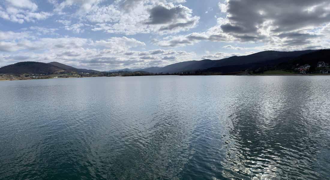 Jezero Sabljaci kraj Ogulina