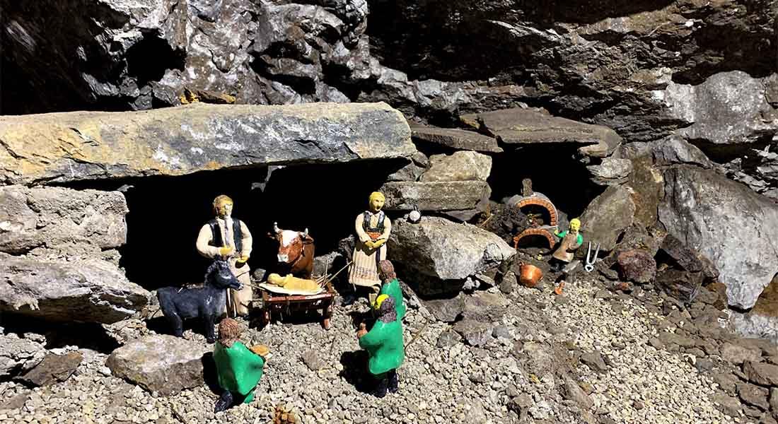 Jaslice u rudniku u Rudama