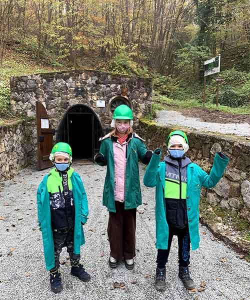 Ulaz u rudnik u Rudama