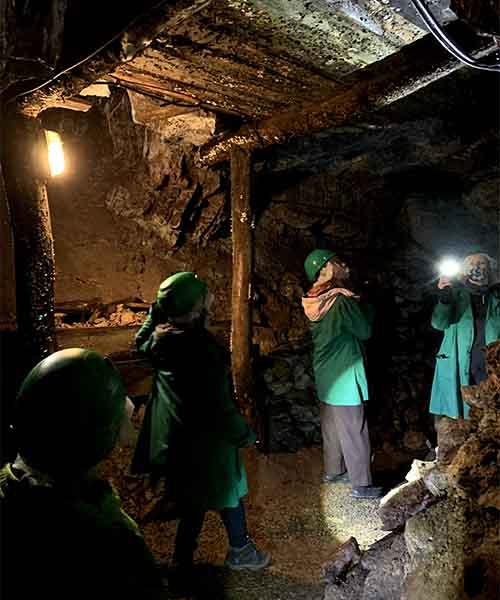 Izlet s djecom u rudnik