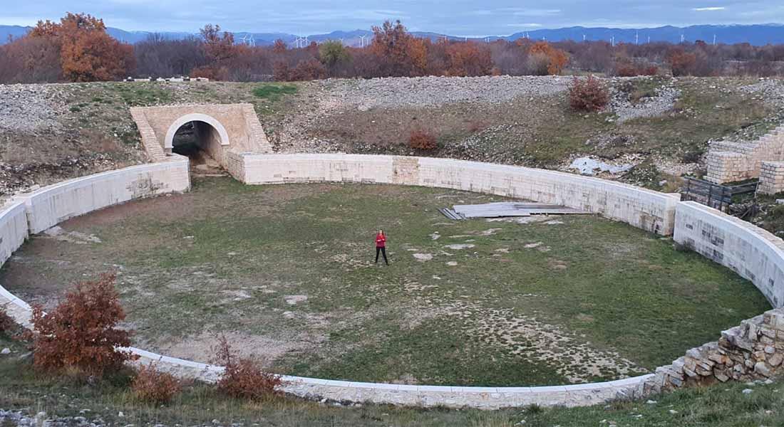 Amfiteatar u Nacionalnom parku Krka