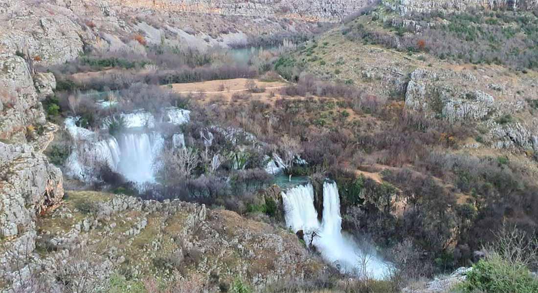 Slap Manojlovac u Nacionalnom parku Krka