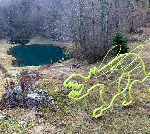 Prošetajte oko jezera u obliku srca: Šmitovo jezero
