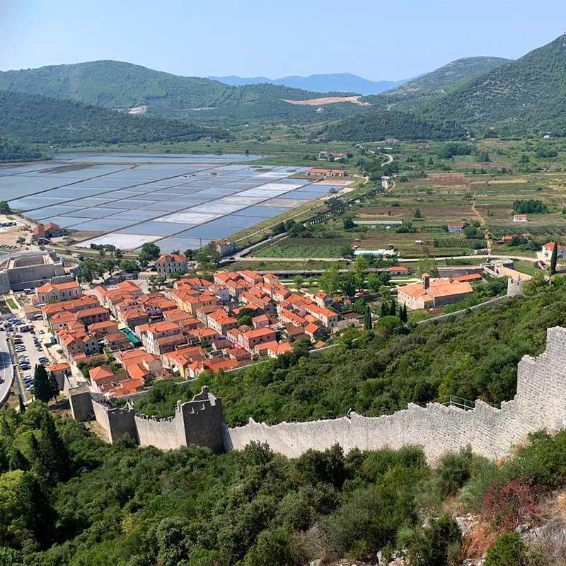 Stonske zidine: druge po veličini zidine na svijetu
