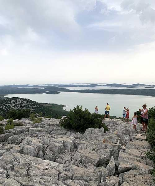 Obilazak Vranskog jezera, vidikovac Kamenjak