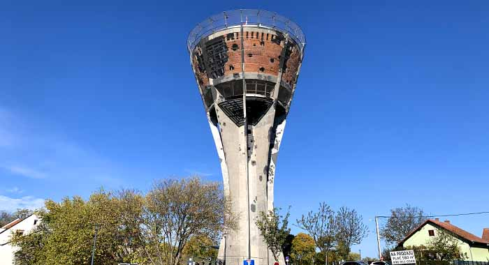 Vukovarski vodotoranj, pogled na život