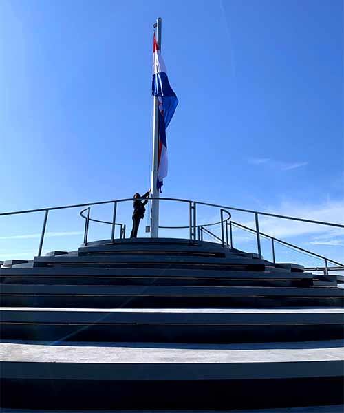 Vidikovac na vodotornju u Vukovaru