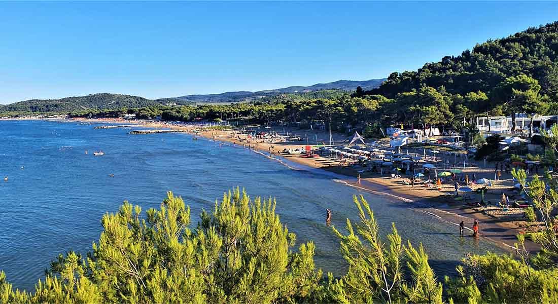 Plaža u NP Gargano
