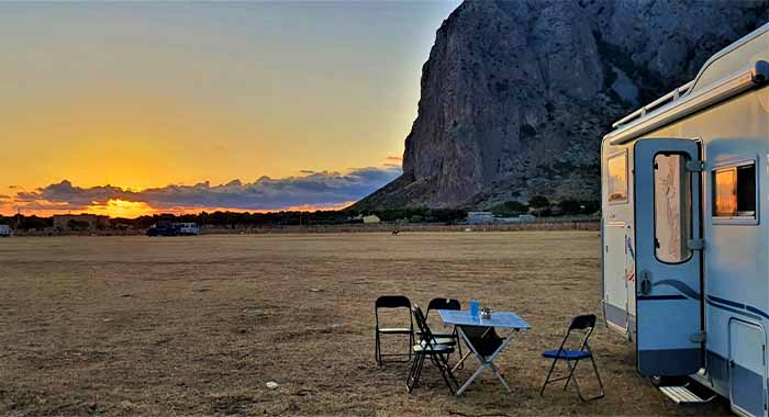 Plan puta kamperom po južnoj Italiji i Siciliji
