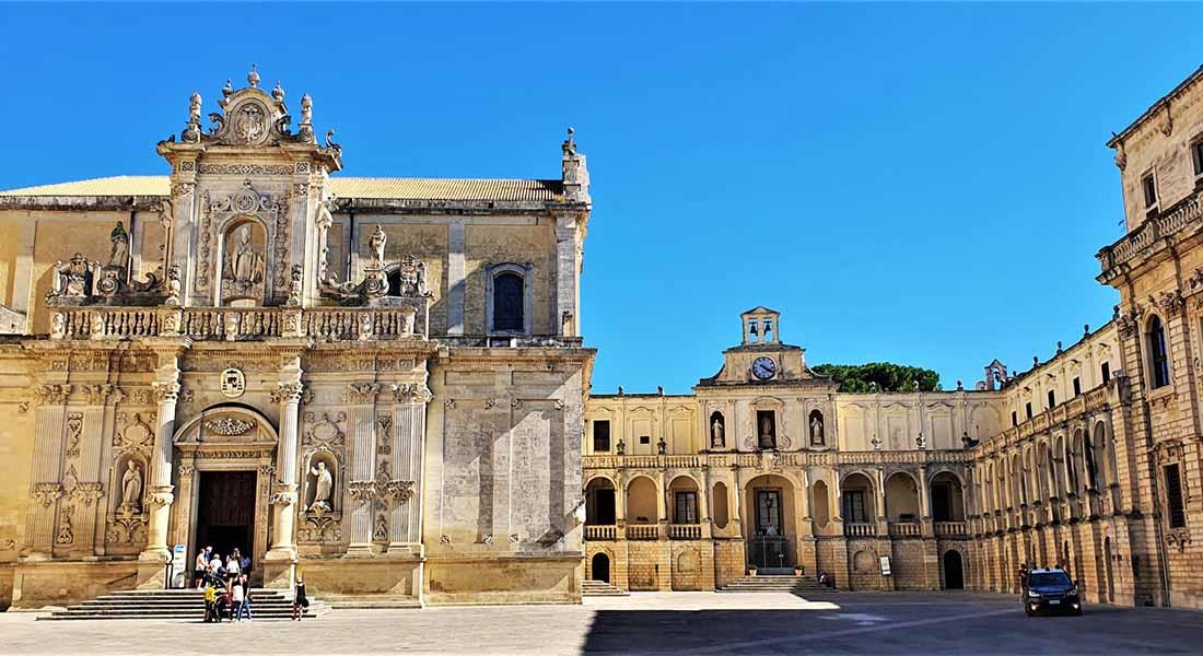 Grad Lecce u Italiji