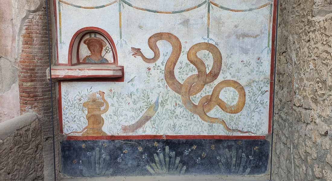 Freska u Pompejima