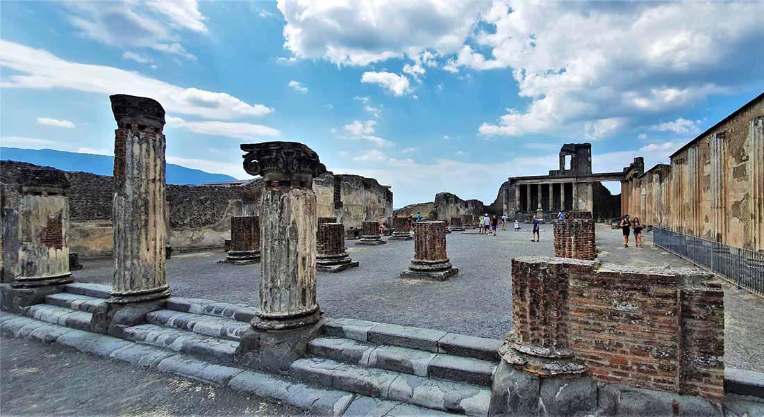 Obilazak Pompeja