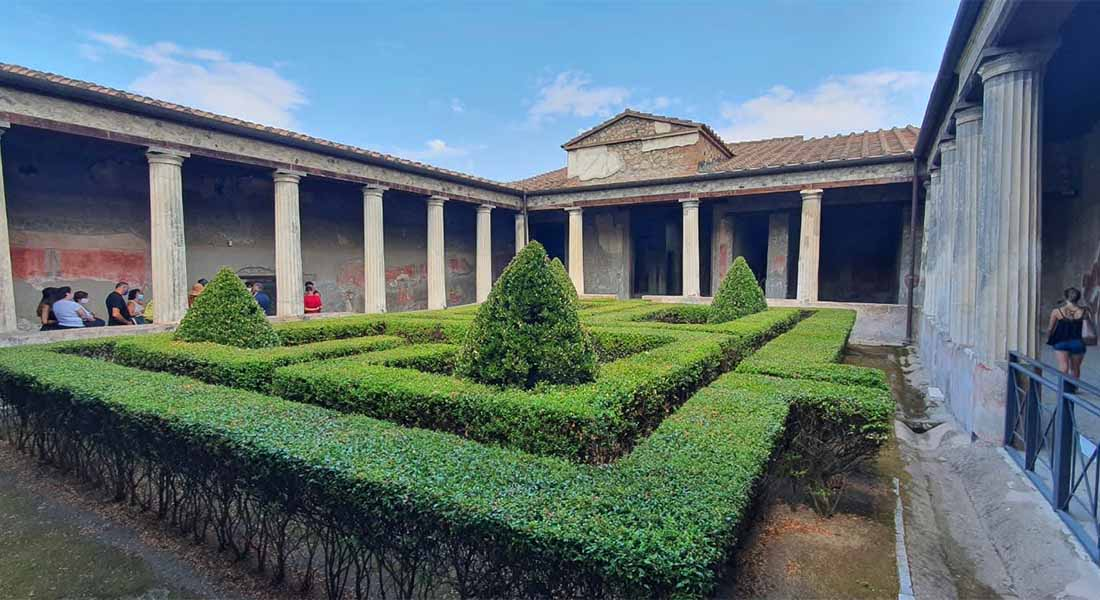 Villa u Pompejima