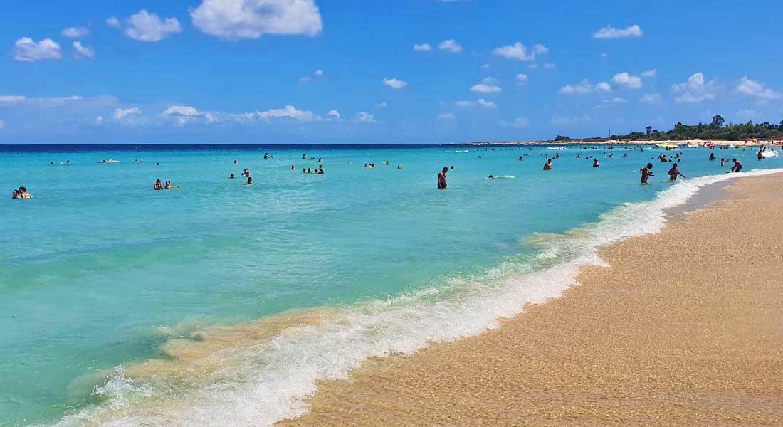 Pješčana plaža na Siciliji