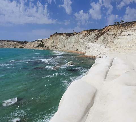 Turske stube na Siciliji, bijelo čudo prirode