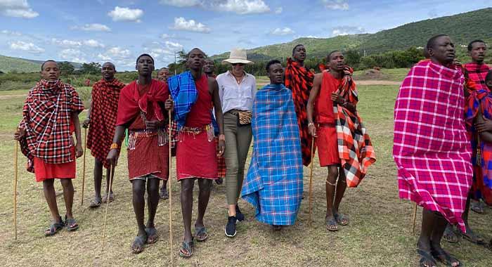 Selo plemena Maasai: u gostima kod ratnika koji visoko skaču