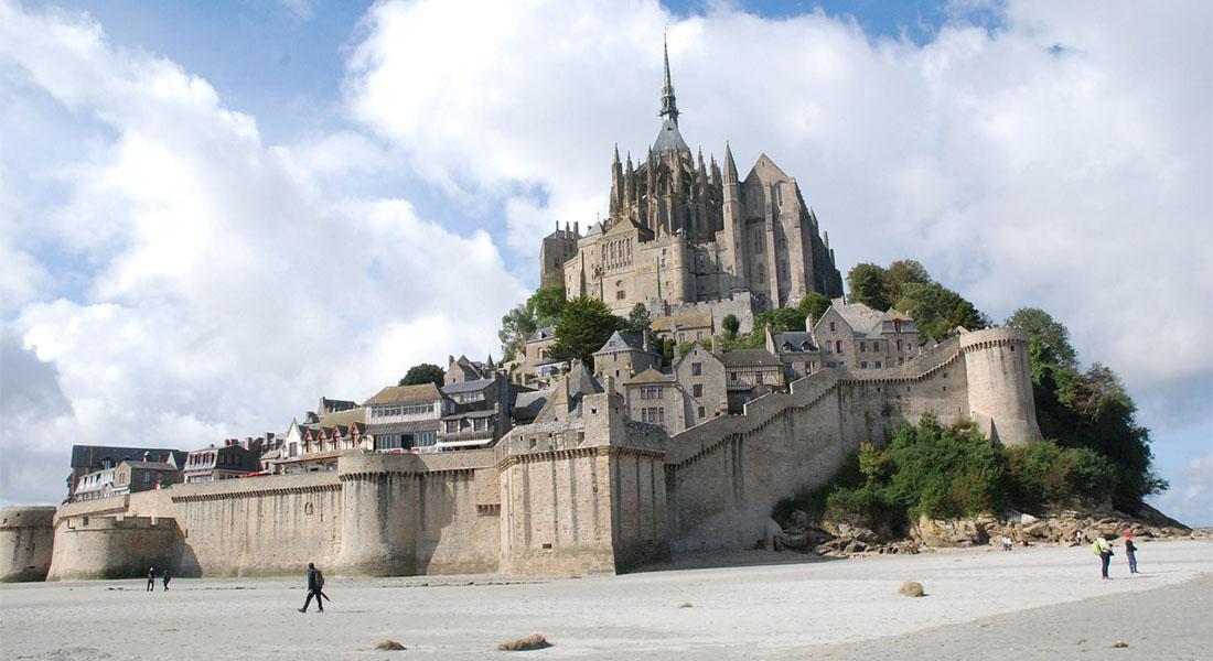 Mont St Michele u Francuskoj