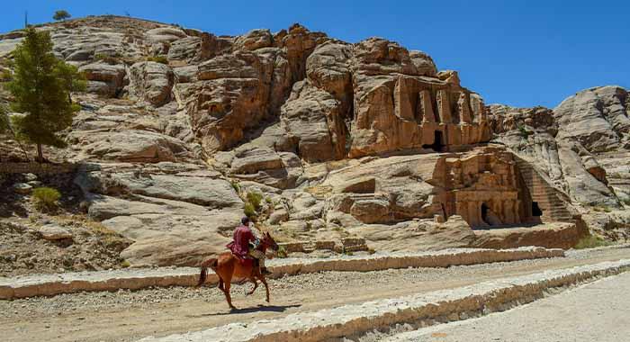 Petra u Jordanu, grad zaboravljen 600 godina