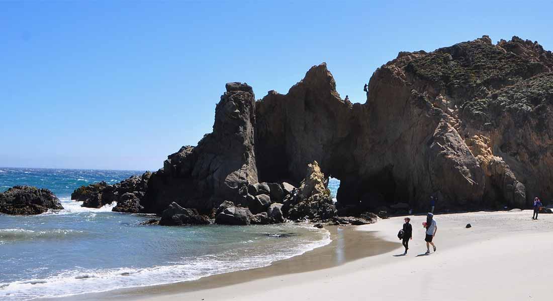 Plaža Pfeiffer u Kaliforniji