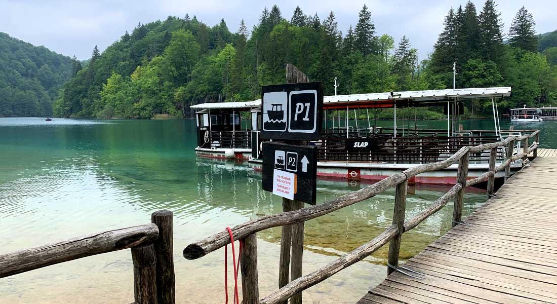 Pristanište P1 na Plitvičkim jezerima