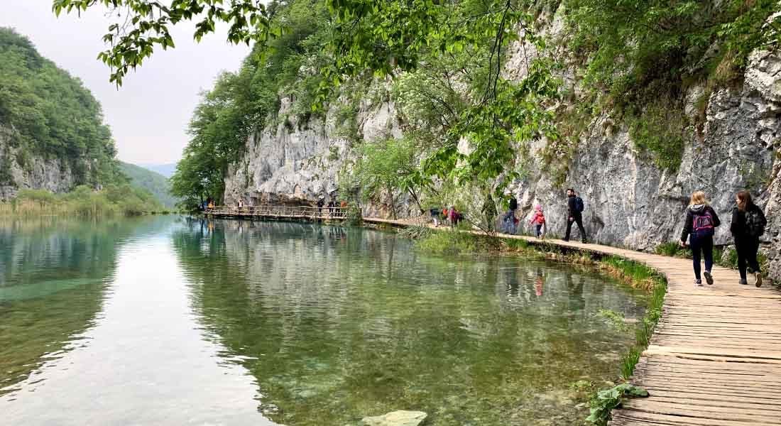 Donja jezera na Plitvicama