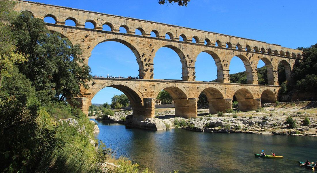 Akvadukt Pont du Gard u Francuskoj