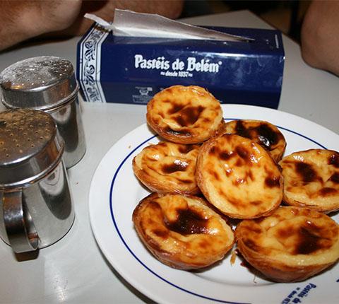 Na misiji kušanja kolača Portugala