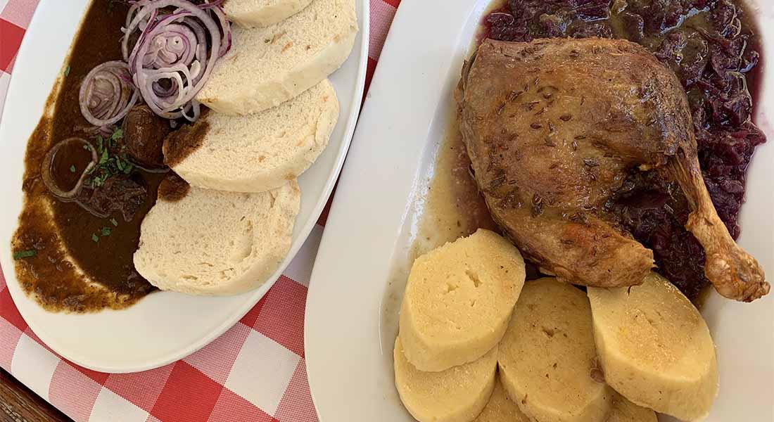 Hrana u Pragu