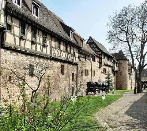 Riquewihr, selo koje je isto kao u 16. stoljeću
