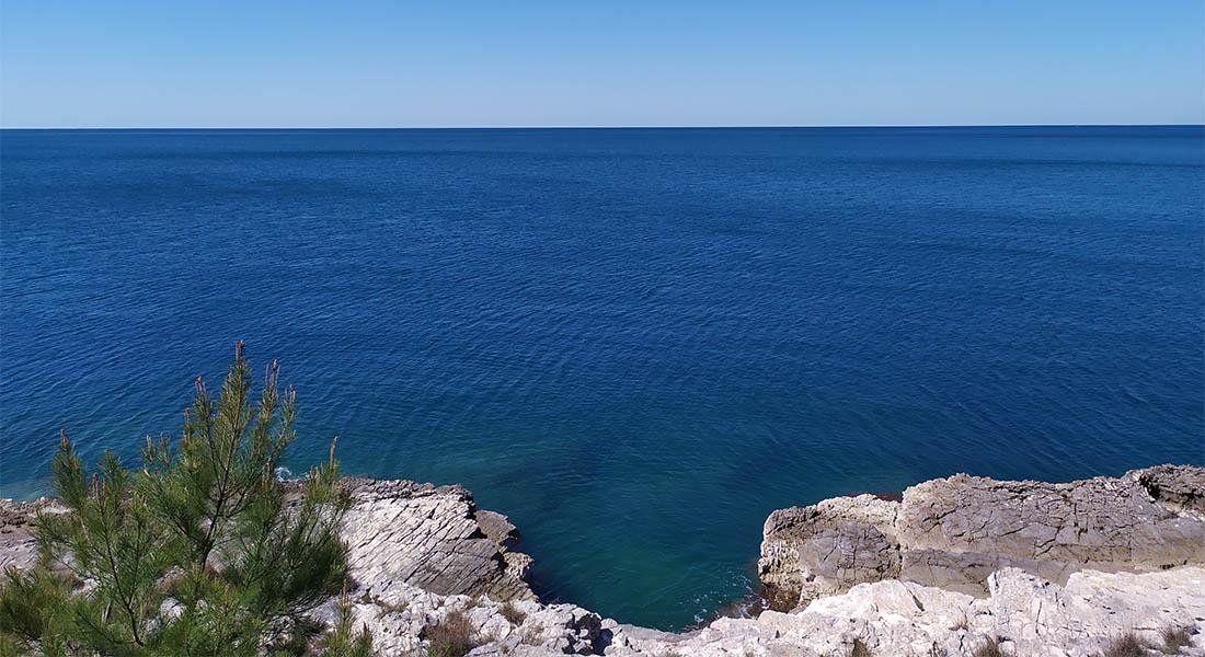 Plavo more i horizont