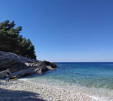 Rt Kamenjak: plaže, dupini i dinosauri
