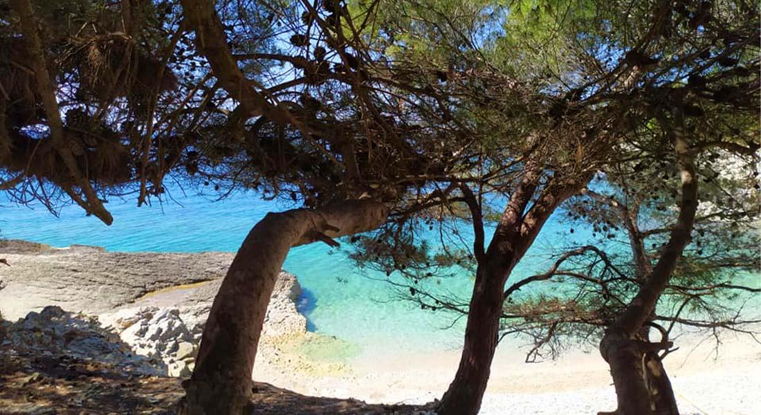 Plaža Njive na Kamenjaku
