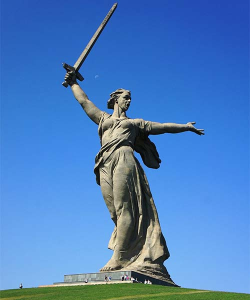 Kip u Volgogradu u Rusiji