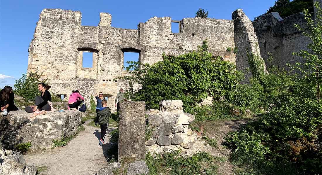 Dvorac na brdu u Samoboru