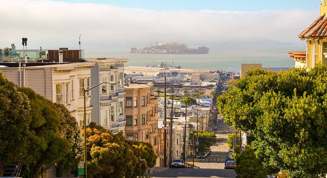Alcatraz i San Francisco