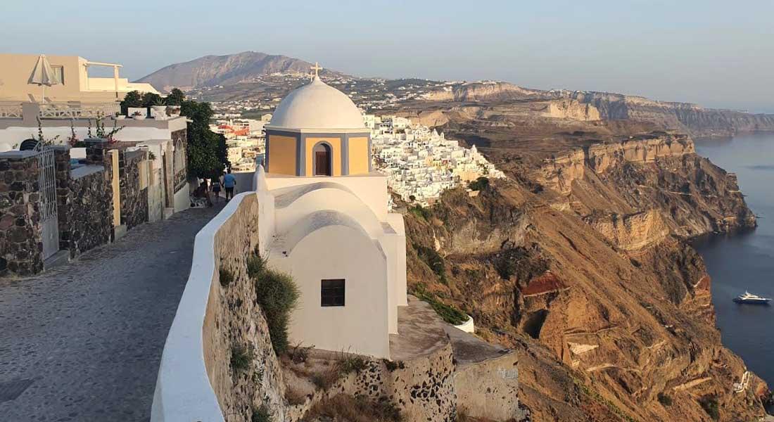 Obilazak Santorinija